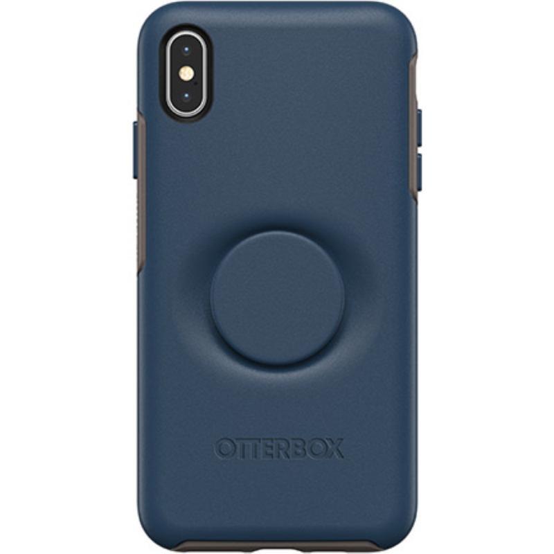 OtterBox 炫彩幾何泡泡騷保護殼iPhone Xs Max 藍