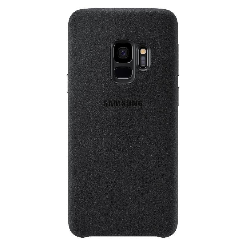 SAM Galaxy SAMSUNG Galaxy S9 Alcantara 義大利麂皮背蓋 黑色