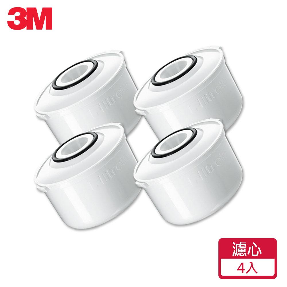【3M】即淨長效濾水壺濾心(4入組)