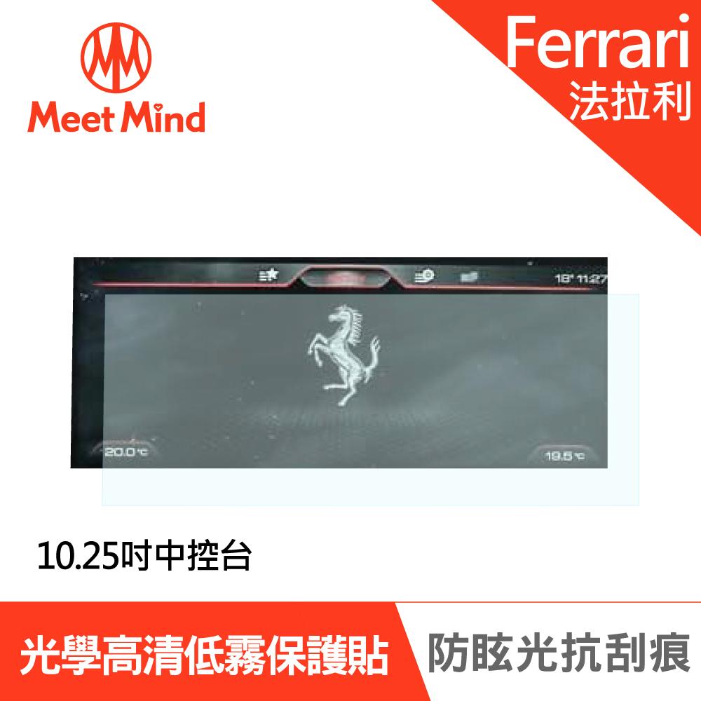 Meet Mind 光學汽車高清低霧螢幕保護貼 FERRARI GCT4 LUSSO 2020-01 法拉利