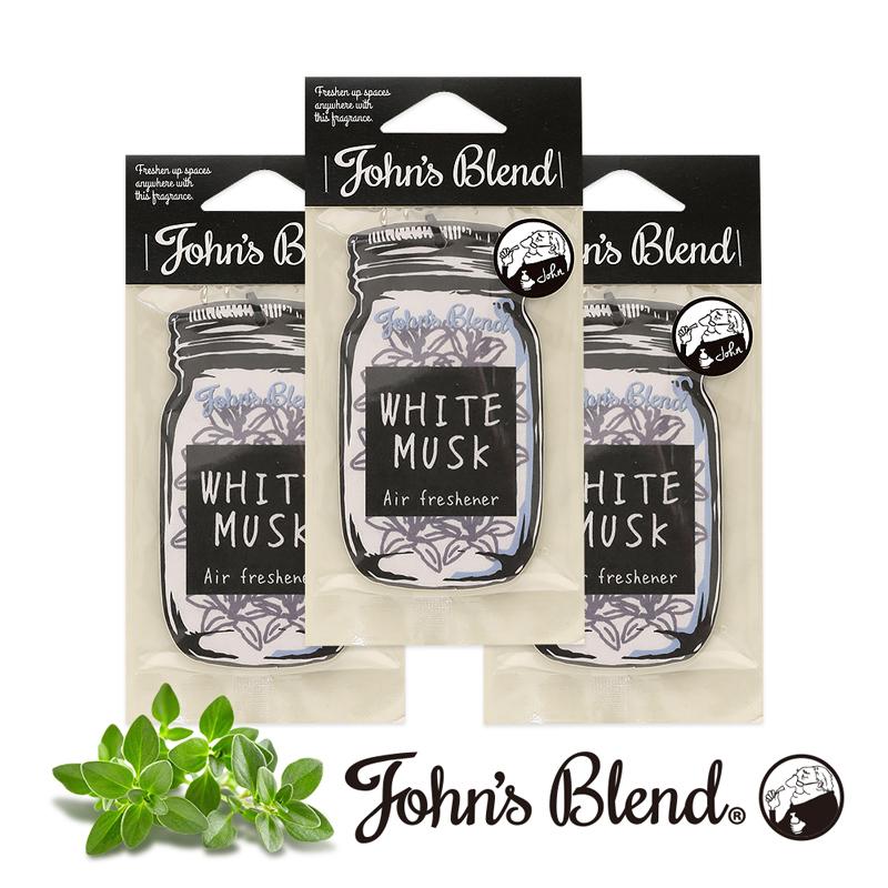 【日本John′s Blend】香氛片〈經典白麝香3入組〉