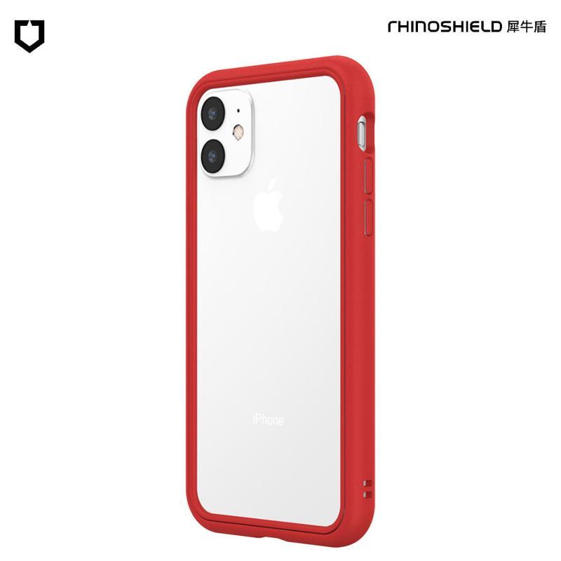 犀牛盾 CrashGuard NX防摔邊框手機殼 iPhone 11 6.1(2019) 紅