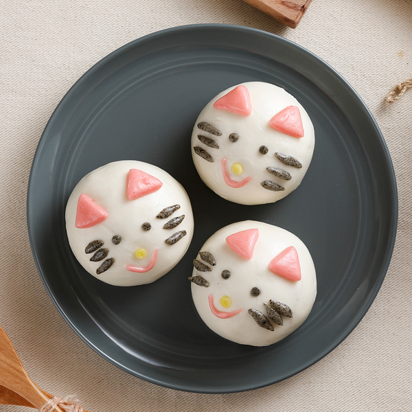 《禎祥》貓咪甜包(綠豆)(10粒/包,共三包)