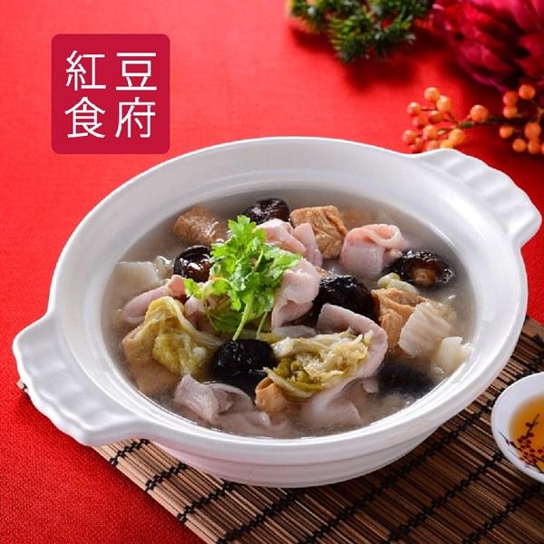 預購《紅豆食府SH》酸菜白肉鍋(1200g/盒)