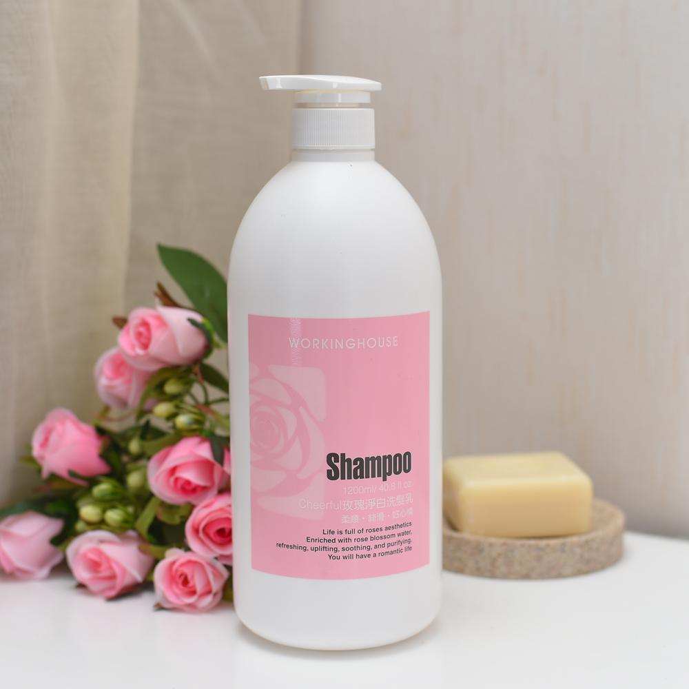 Cheerful玫瑰淨白洗髮乳1200ml-生活工場
