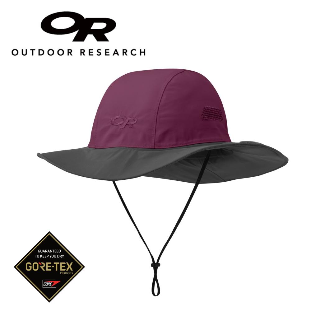【美國Outdoor Research】深紫/灰M-新色經典款防水透氣防曬可折疊遮陽帽