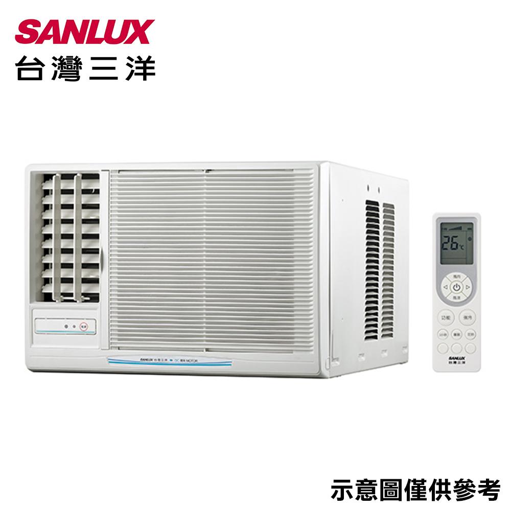 【SANLUX三洋】4-6坪窗型定頻左吹冷氣SA-L36FEA