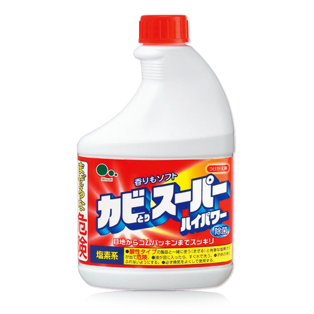 日本Mitsuei美淨易浴廁除菌清潔劑補充瓶400mlx6入