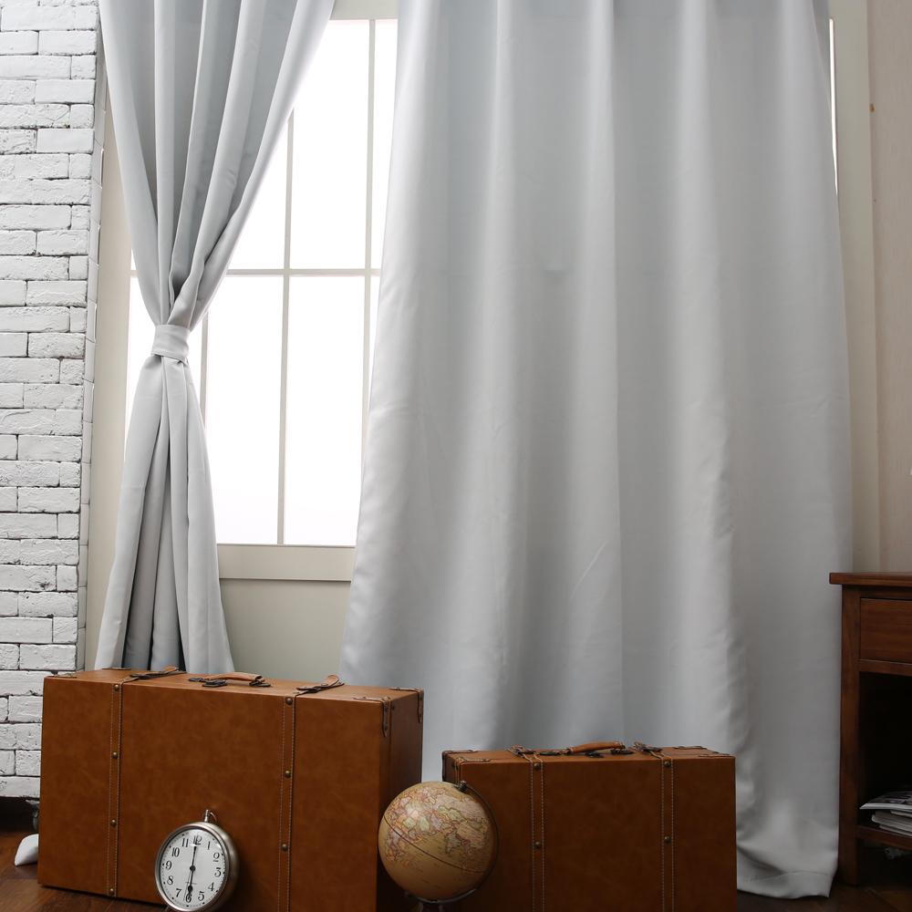 Pure純色落地簾165x240-白-生活工場
