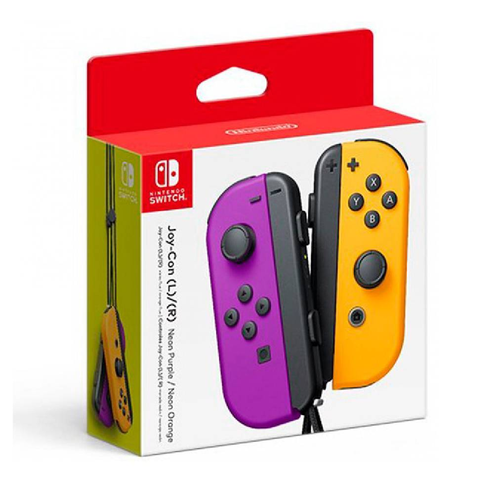 Nintendo Switch Joy-Con 左右手控制器 紫橘