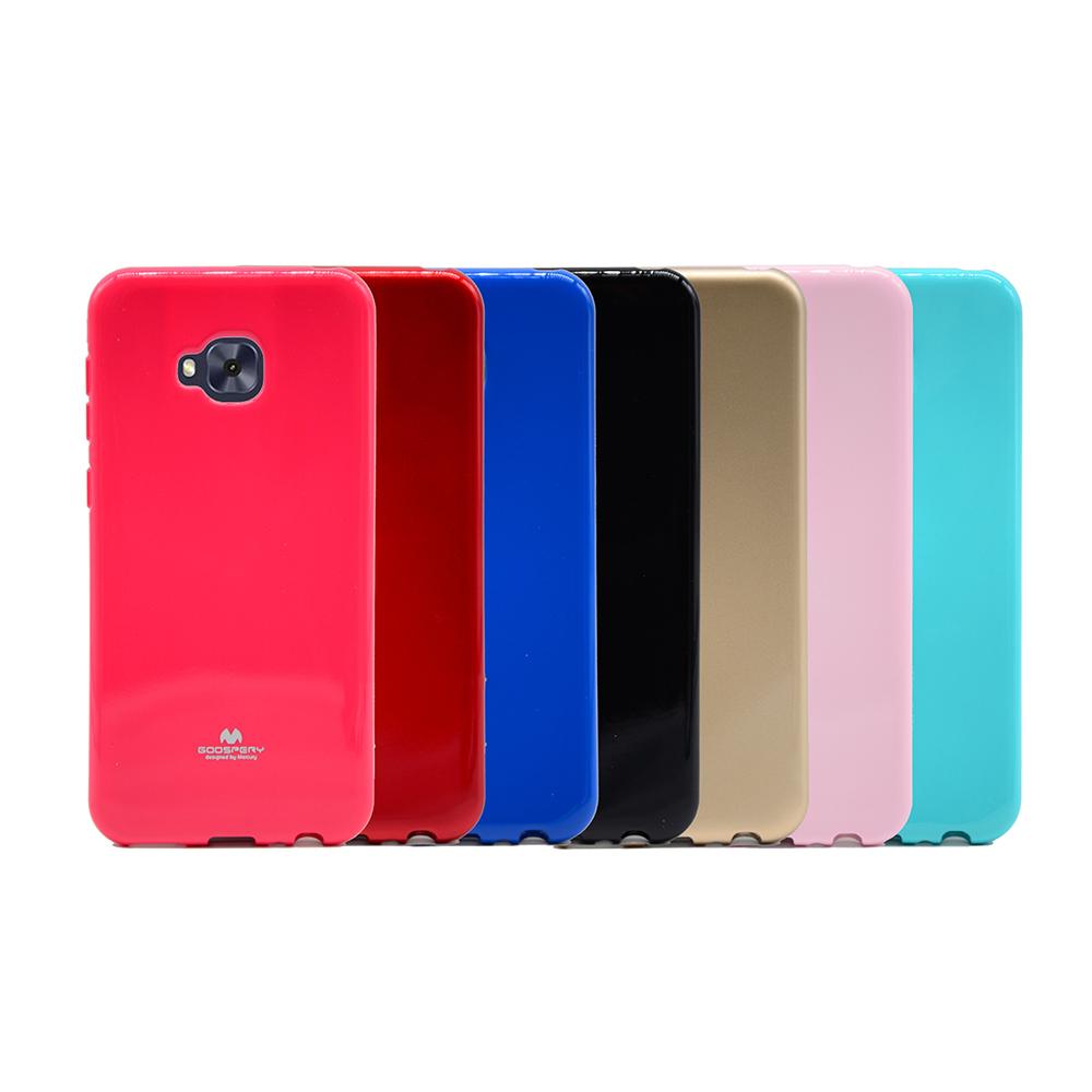 GOOSPERY ASUS ZenFone 4 Selfie Pro ZD552KL JELLY 閃粉套(藍色)
