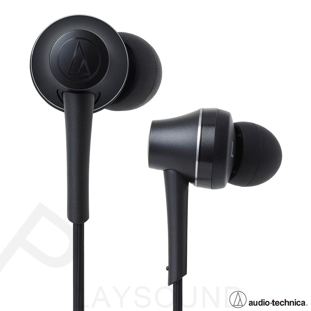 鐵三角 ATH-CKR75BT 石墨黑 可通話 耳道式藍牙耳機