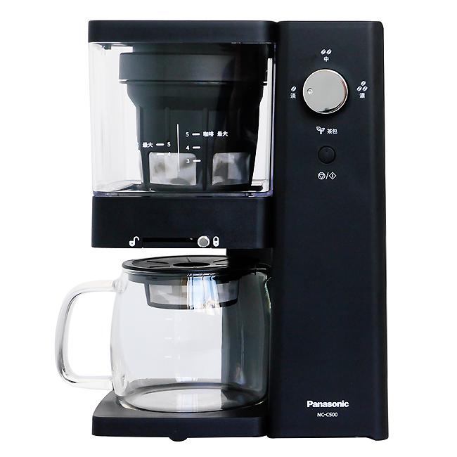 【Panasonic國際牌】5人份冷萃專業咖啡機(咖啡/泡茶兩用) NC-C500