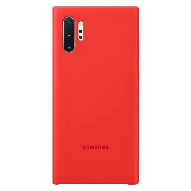 SAMSUNG Galaxy Note10+ 薄型背蓋 (矽膠材質)紅