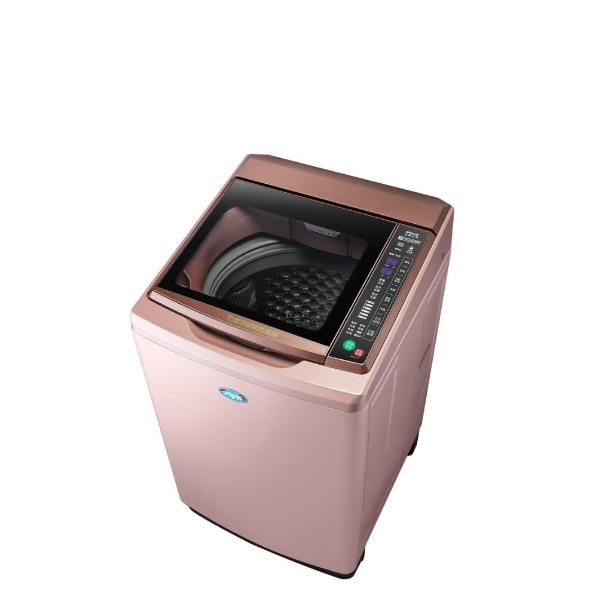台灣三洋SANLUX 15公斤全玻璃觸控洗衣機玫瑰金SW-15DAG-D
