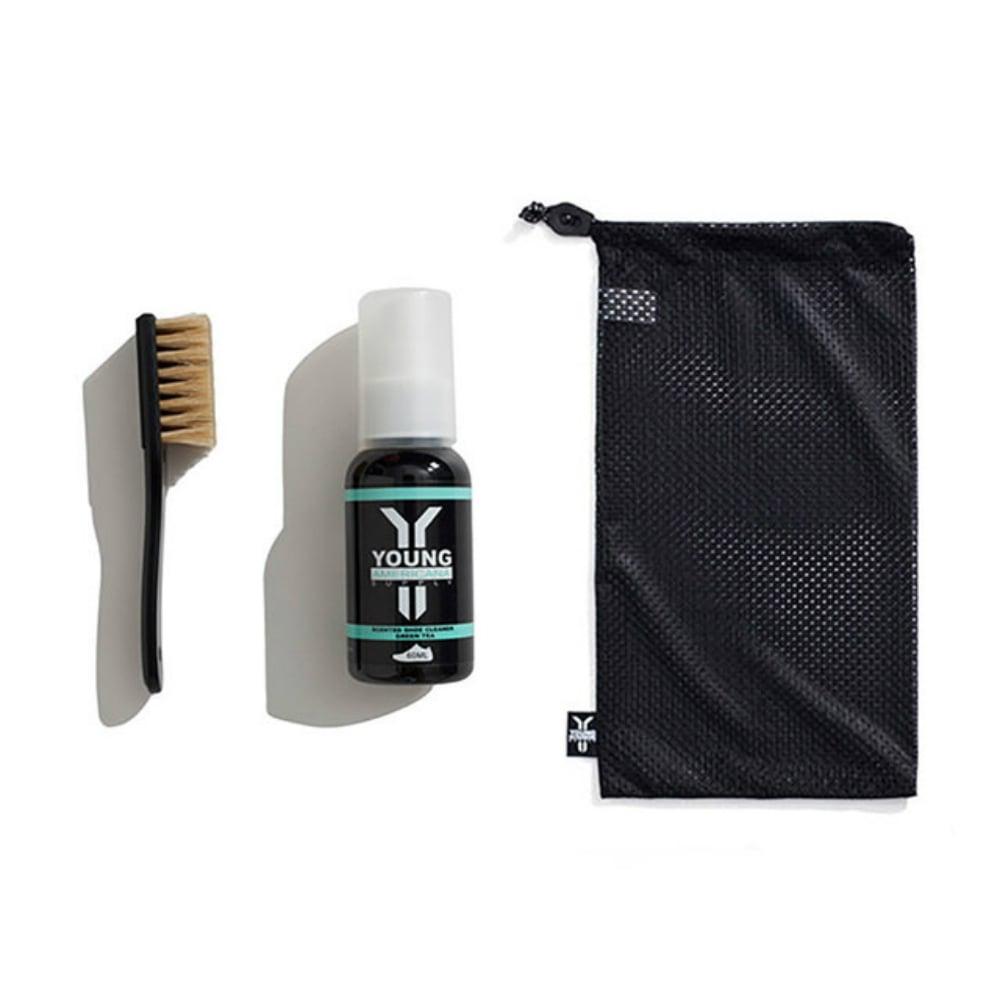【Y.A.S】美鞋神器 洗鞋劑60ml+洗鞋袋-綠茶(AA0044)