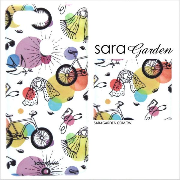 【Sara Garden】客製化 手機殼 Samsung 三星 Note10 保護殼 硬殼 手繪河岸輕旅行