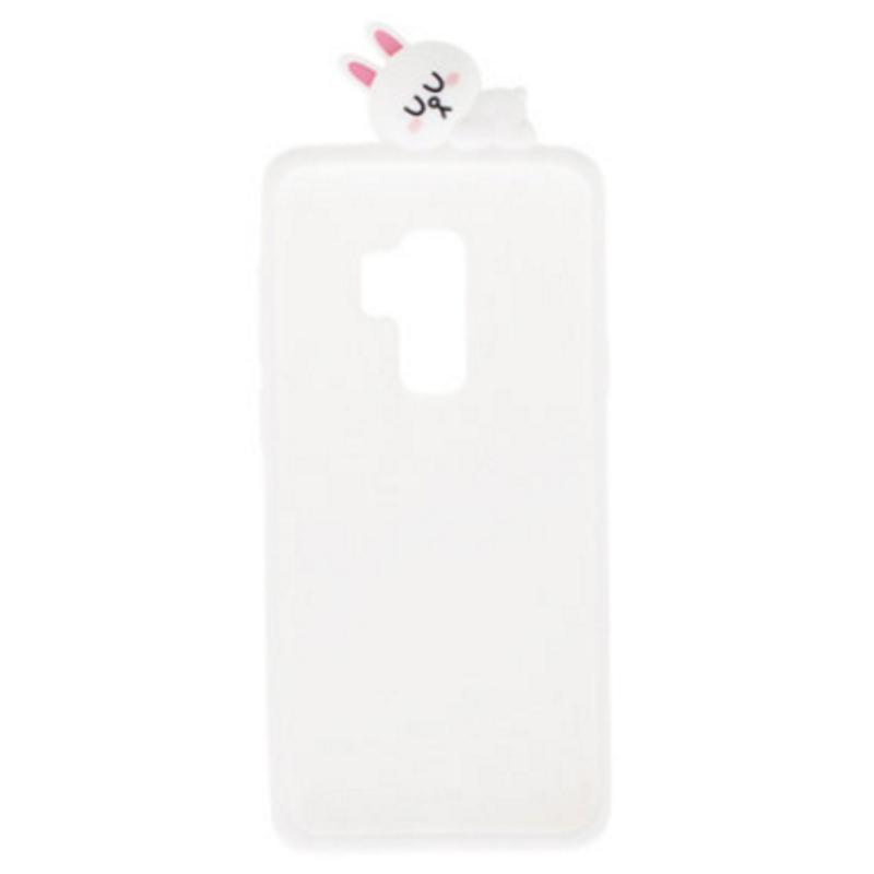SAMSUNG Galaxy S9+ LINE Cony兔  FRIENDS 立體矽膠背蓋