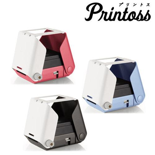 [送空白底片 單入組]Takara Tomy Printoss 手機 相印機 拍立得 列印機(櫻花粉)