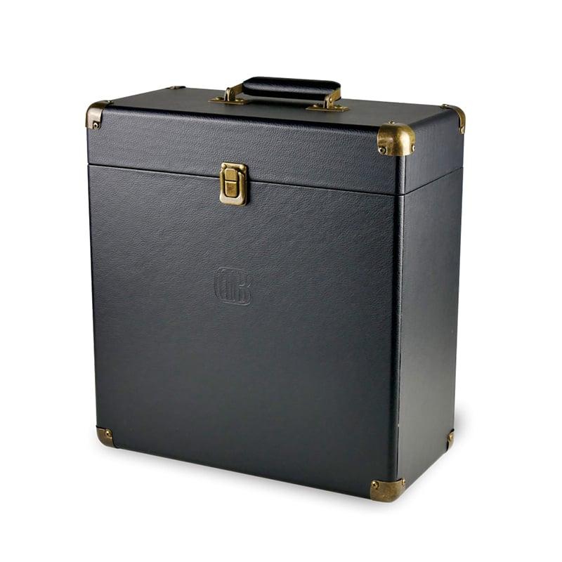 DB 復古可攜黑膠收納箱-黑