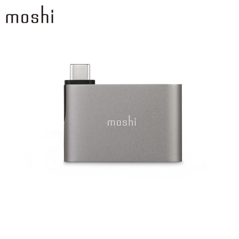 moshi USB-C to USB-A 雙端口轉接器 鈦灰