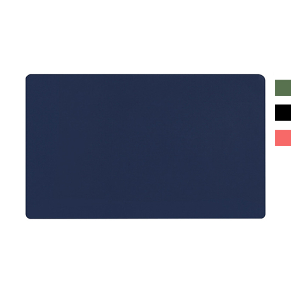 BUBM 雙色辦公桌墊(80x40)(酒紅+黃)