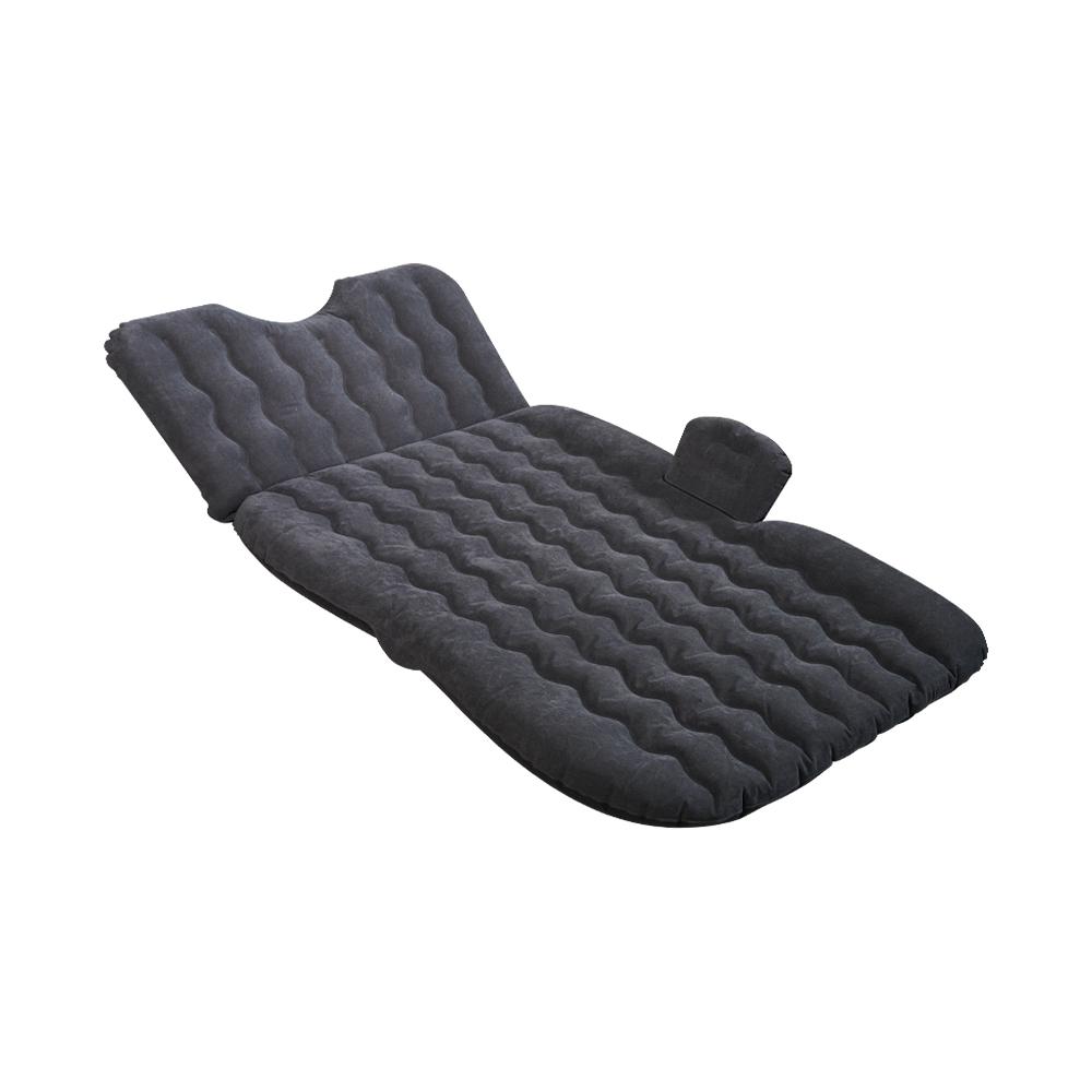 悠活 親膚絨布車用充氣床升級版 (買一送八/送充氣泵/雙重防護檔) 單人氣墊床 車中床 汽車床墊 旅行床