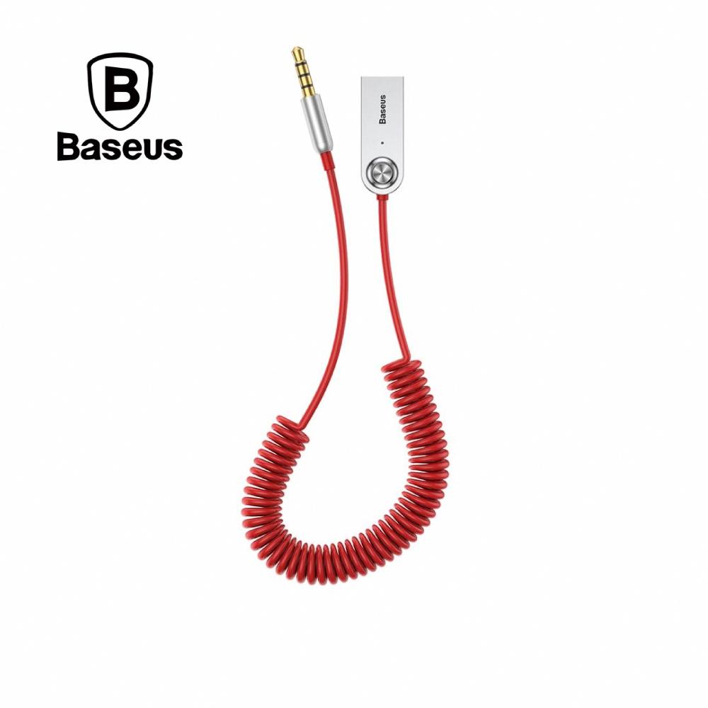 Baseus 倍思 Ba01 USB藍牙適配線 120CM 紅色