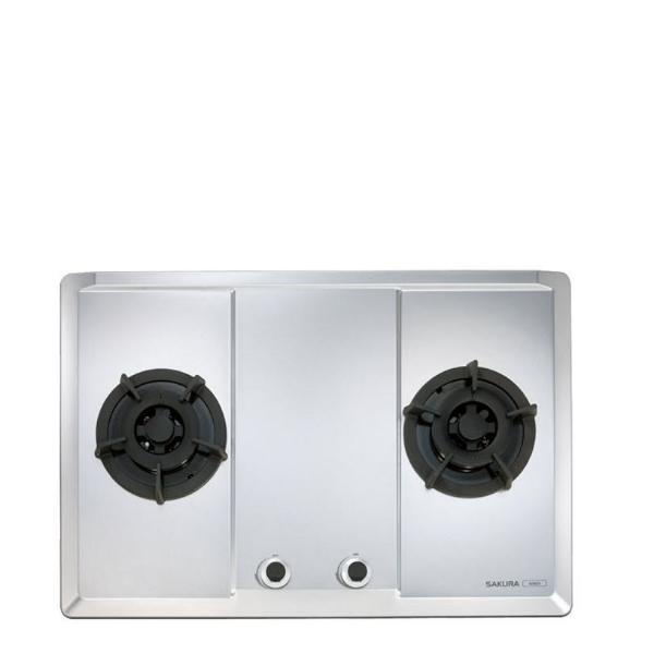 (全省安裝)櫻花雙口檯面爐(與G-2623S同款)瓦斯爐桶裝瓦斯G-2623SL