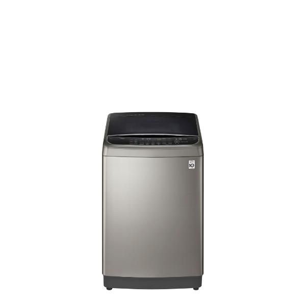 LG樂金12KG變頻蒸善美溫水不鏽鋼色洗衣機WT-SD129HVG