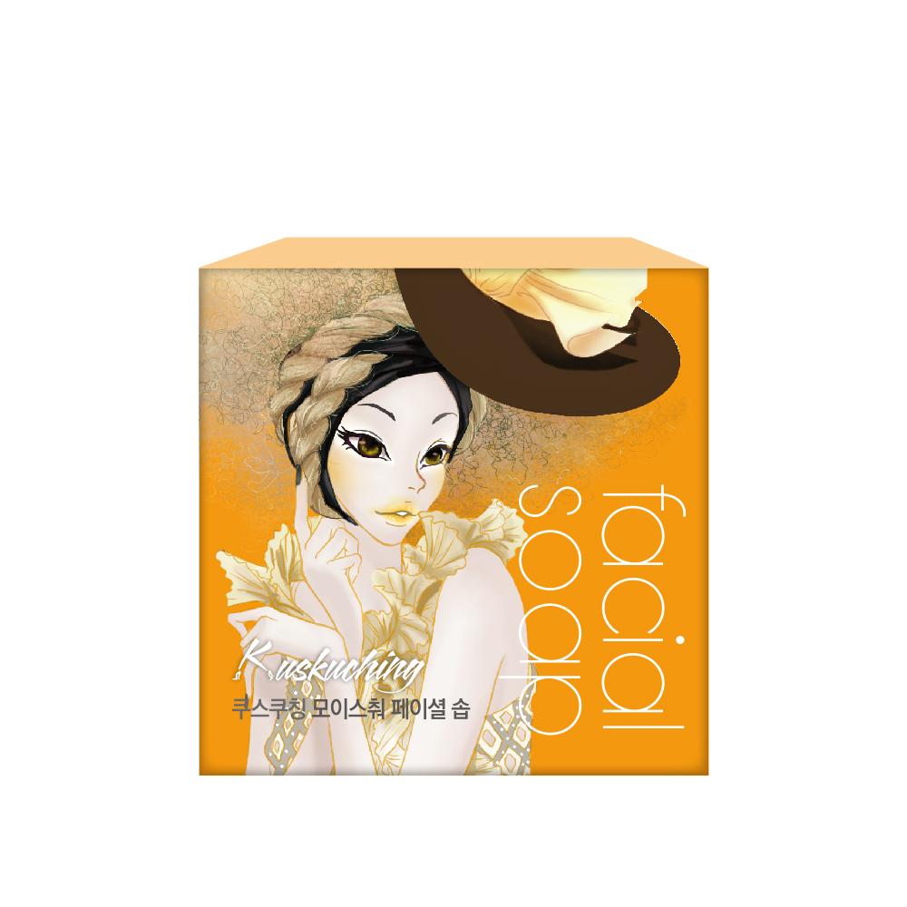 【Kuskuching貓吻】香氛深層滋潤美肌皂80gX8入