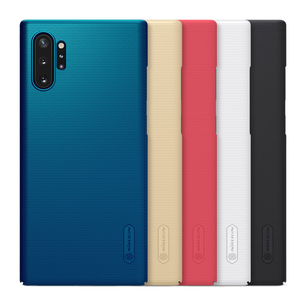 NILLKIN SAMSUNG Galaxy Note 10+ 超級護盾保護殼(孔雀藍)