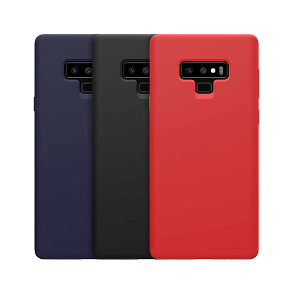 NILLKIN SAMSUNG Galaxy Note 9 感系列液態矽膠殼(黑色)