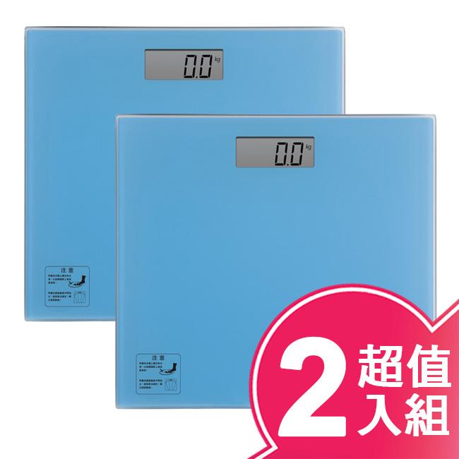 【TECO東元】電子式體重計(超值二入組) XYFWT604