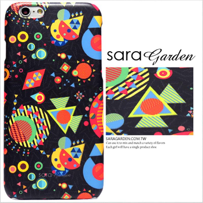 【Sara Garden】客製化 手機殼 蘋果 iPhone6 iphone6S i6 i6s 銀河 星球 幾何 圖騰 保護殼 硬殼 限定
