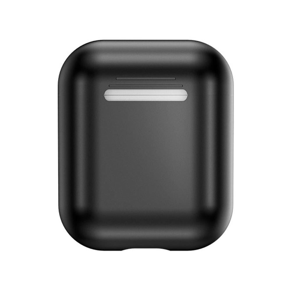 【TOTU台灣官方】AirPods 1代 2代 防摔殼 保護套 電鍍 軟殼 黑色