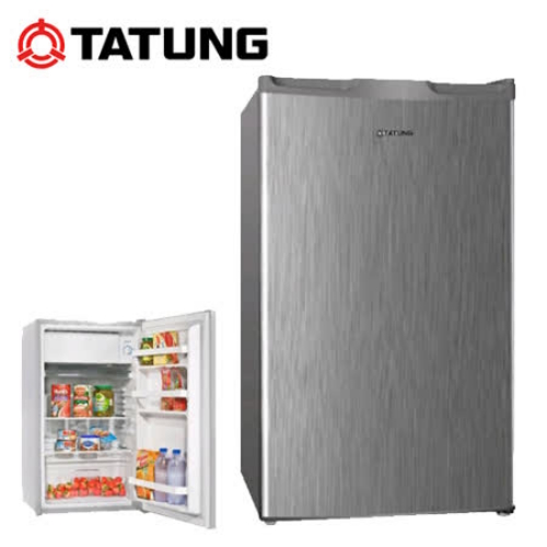 含標準安裝【TATUNG大同】單門冰箱100L TR-100HNW-S(CP值高於R1072LA R1091W )
