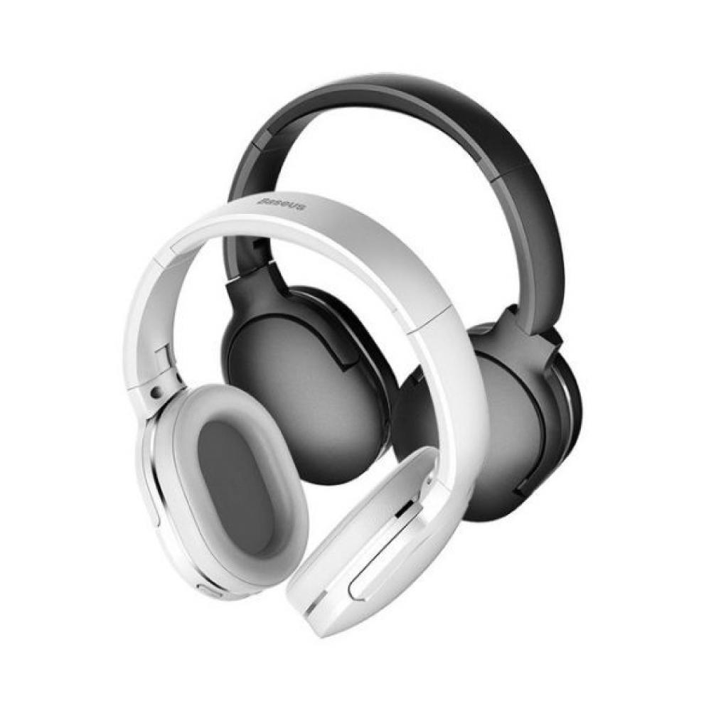 Baseus 倍思 D02 Encok 頭戴式藍牙耳機 -白色