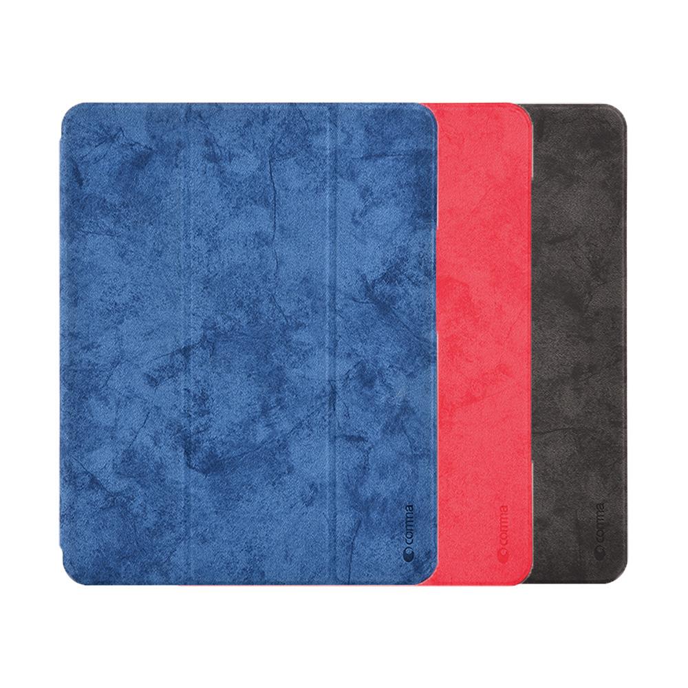 樂汀 Apple iPad Pro 11 (FaceID) 樂汀筆槽保護套(藍色)