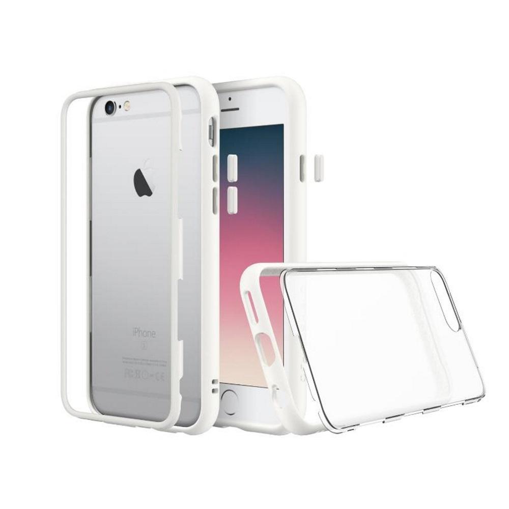 犀牛盾iPhone6s Plus /iPhone6 Plus MOD防摔背蓋手機殼 白