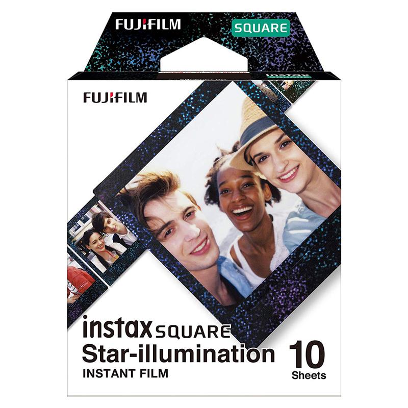 FUJIFILM instax SQUARE 星光/星空 方形底片(3盒裝)