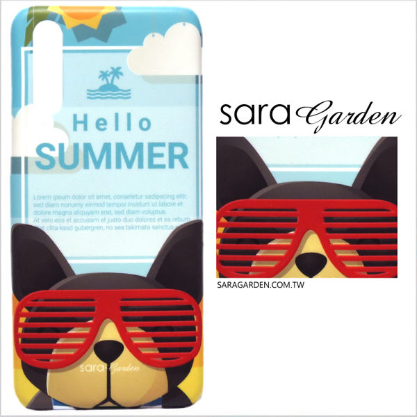 【Sara Garden】客製化 手機殼 Samsung 三星 Galaxy A70 保護殼 硬殼 你好夏天狗狗