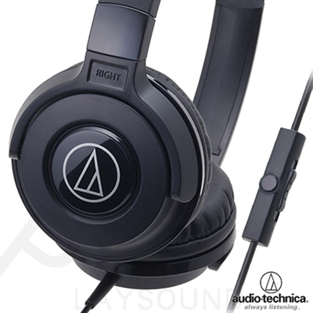 鐵三角 ATH-S100iS 黑色 智慧型手機專用 頭戴式耳機 ATH-SJ11 後續通話版