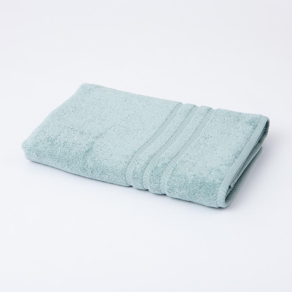 Turkey純棉浴巾-迷霧綠-生活工場