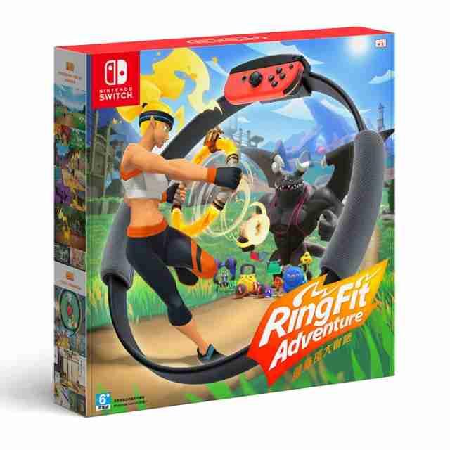 Nintendo Switch 健身環大冒險 同捆組