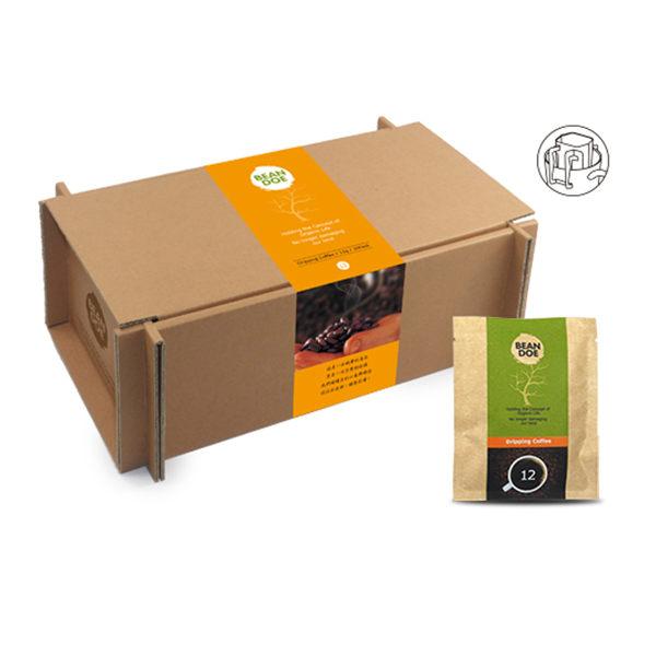 《繽豆》濾掛咖啡(中焙)(10入/盒,共兩盒)