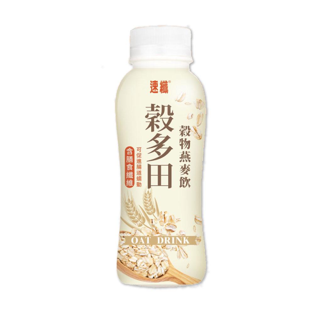 【速纖】穀多田-穀物燕麥奶 12罐x2箱(300ml/罐)