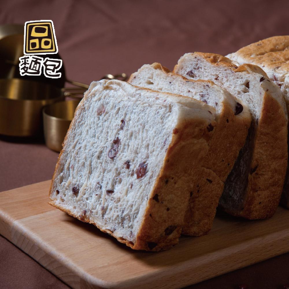 《品麵包》紅豆生吐司(545gx2條)(冷凍)