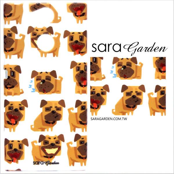 【Sara Garden】客製化 手機殼 SONY XA Ultra 保護殼 硬殼 手繪狗狗毛孩子