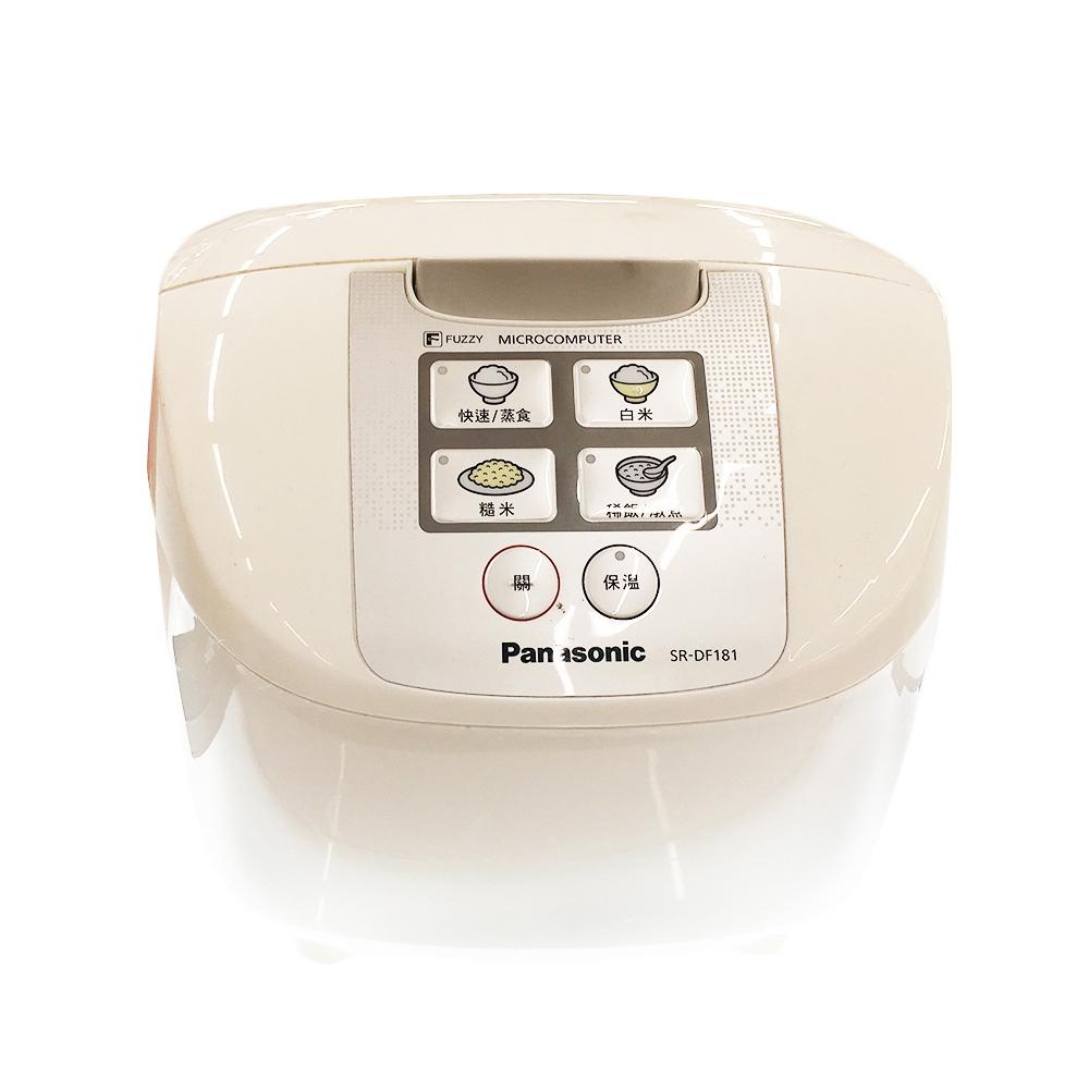 【Panasonic 國際牌】10人份 微電腦電子鍋 SR-DF181
